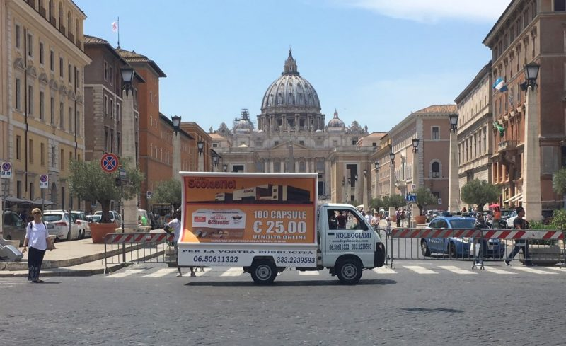 Camion Pubblicitari Roma